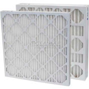 """Filtration, fabrication 0213-18244 plissé filtre Merv 13, W 18"""" x 24 «H x 4"""" P, qté par paquet : 6"""