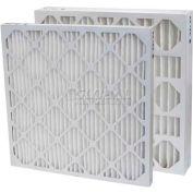 """Filtration, fabrication 0213-20204 plissé filtre Merv 13, W 20"""" x 20 «H x 4"""" P, qté par paquet : 6"""