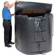 Powerblanket® chauffe-fourre-tout isolé pour 250 gallons de fourre-tout en acier IBC, jusqu'à 145°F, 120V