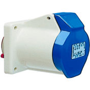 Walther Electric 430306, Female Receptacle, 30/32A, 3P, 230/250Vac, 6 Hr, IP44