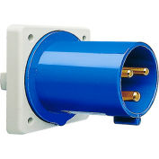 Walther Electric 635306, Male Inlet, 30/32A, 3P, 230/250Vac, 6 Hr, IP44