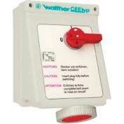 Walther Electric AE169509, Mechanical Interlock, 63A, 5P, 230Vac, 9 Hr, IP67