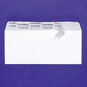 White Wove Grip Seal® Business Envelopes, #6-3/4, Inside Tint, 55/Box