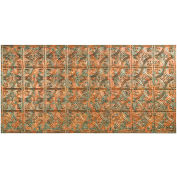 Fasade Traditional Style # 1 - 2' X 4' Vinyl Glue-Up Ceiling Tile in Copper Fantasy - G50-11
