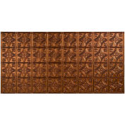 Fasade Traditional Style # 1 - 2' X 4' Vinyl Glue-Up Ceiling Tile in Oil Rubbed Bronze - G50-26