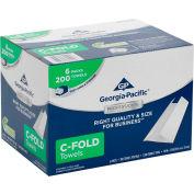 GP Georgia-Pacific Professional Series 1 pli C-Fold essuie-tout, serviettes 1200/affaire 2112014