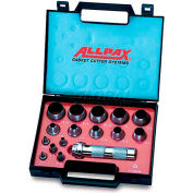 AllPax® Hollow Punch Tool Kit AX1301, 16 Piece