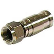 Gardner Bender GDC-6CM F-Series Compression Connector (Rg-6) - 4 pack