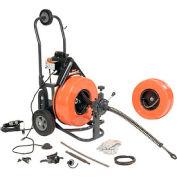 Machine de nettoyage d'égouts général fil P-S92-A Speedrooter 92 comprend 2 câbles & Set Cutter