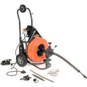 """Général-92C-fil PS Speedrooter 92 vidange/nettoyage d'égouts Machine W/100 x 3/4 """"câble & 8 les jeu de fraises de Pc"""
