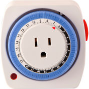 GoGreen puissance GG-36011 24 heures minuterie plug-in
