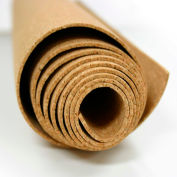 "Ghent Rolled Bulletin Material - 1/8"" Thick Cork - 4' x 8' - Natural"