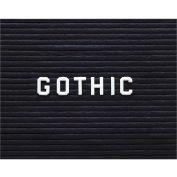 "Ghent® Letter Set - Gothic 1-1/2""H"