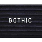"Ghent® Letter Set - Gothic 1/2""H"