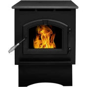 Pleasant Hearth Pellet Stove Heater Medium 35 000 BTU Avec 40 Livres Hopper PH35PS-B