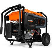 Generac® GP6500E, 6500 Watt, Portable Generator, Gasoline, Electric/Recoil, 120/240V