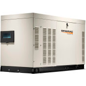Generac RG02724ANAX, 27kW, Single Phase, Liquid Cooled Quietsource Generator, NG/LP, Alum. Enclosure