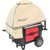 GenTent Running Cover, ZKU Kit, Extreme Edition, 3000W and Up Inverter Generators, Tan