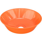 "Guardian Equipment 100-009ORG-R ABS Plastic Bowl, 12"", Orange, Replacement"