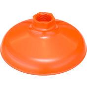 "Guardian Equipment AP450-032ORG ABS Plastic Shower Head, 10"", Orange, Replacement"