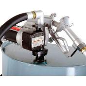 Fuelworks® B01LX4S573 120V 20GPM Fuel Transfer Pump Kit 14' Hose, Black