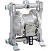 "Fuelworks® B071P9NKY3 Double Diaphragm Transfer Pump 1/2"" Nitrile/NBR/Buna-N - 12GPM / 45LPM"