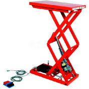 "HAMACO All-Electric Lift Table MLM-100-46WV-12 - 25.6"" x 15.7"" - 220 Lb. Cap. - SPM Motor"