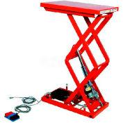 """HAMACO All-Electric Lift Table MLM-250-47V-12 - 28.3"""" x 15.7"""" - 551 Lb. Cap. - SPM Motor"""