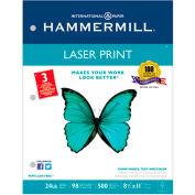 """Laser copie papier 3 trou perforé - marteaux 107681 - blanc - 8-1/2 """"x 11"""" - 24 lb - 500 feuilles"""
