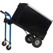 Harper™ DTCK1935P 4-in-1 Convertible Heavy Duty Hand Truck - Pneumatic Wheels - 900 Lb. Cap