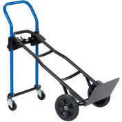 Harper™ JDCJ8523 3-in-1 Convertible Hand Truck with Solid Rubber Wheels - 500 Lb. Capacity