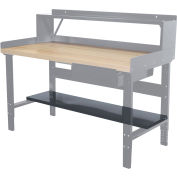 "Hallowell Workbench abaisser la tablette, 48"" W x 12"" D"