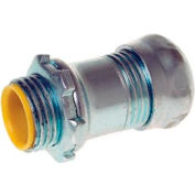 "Hubbell 2916rt Emt Compression Connector Raintight 1 1/2"" Trade Size Insulated - Steel - Pkg Qty 10"