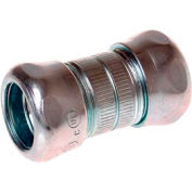 """Hubbell 2924rt Emt Compression Coupling Raintight 1"""" Trade Size - Steel - Pkg Qty 75"""