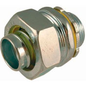 """Hubbell 3401 Straight Liquidtight Connector 3/8"""" Trade Size - Pkg Qty 200"""