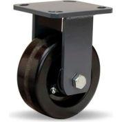 Hamilton® Workhorse Forged Rigid 5 x 2 Plastex Roller 1000 Lb. Caster