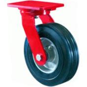 Hamilton® Cush-N-Flex Forged Swivel 10 x 2-3/4 Super-Flex Roller 700 Lb. Caster