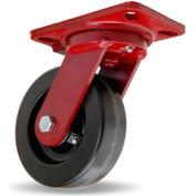 Hamilton® Heavy Service Swivel 6 x 2 Plastex Roller 1200 Lb. Caster