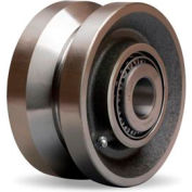 "Hamilton® V-Groove Wheel 6 x 3 - 1-1/4"" Tapered Bearing"