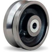 """Hamilton® V-Groove Wheel 8 x 3 - 1"""" Tapered Bearing"""
