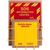 "Horizon Mfg. English Eco Friendly SDS Safety Center, 8553, 1-1/2""W Binder"