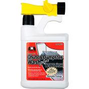 Nilodor Bio-Enzymatic Chute & Dumpster Wash PLUS, Orange Scent, Quart Bottle, 6/Case