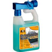 Nilodor RTU Chute & Dumpster Wash, Citrus Scent, Quart Bottle, 6/Case