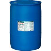 Nilodor Certifié® shampooing en mousse sèche, parfum frais léger, tambour de 55 gallons