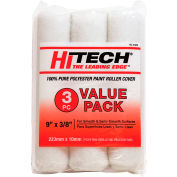 "Hi-Tech 9"" X 3/8"" Poly Roller Covers, 3 Pack - RC31895 - Pkg Qty 6"