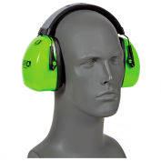 Howard Leight 1013941 L3HV Leightning® Hi-Visibility Reflective Headband Earmuff, NRR 30