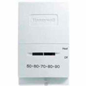 Honeywell Mercury Free Heat Only Thermostat With Positive Off T827K1009