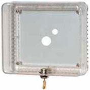 Couvre-Thermostat universel Medium Honeywell W / Base et couvercle transparent Opaque plaque murale TG511A1000