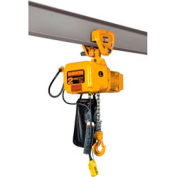 Harrington SNERP005S-20 SNER Electric Hoist w/ Push Trolley- 1/2 Ton, 20' Lift, 15 ft/min, 230V