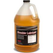 HSM® huile de Shredder, bouteilles de Gallon, 4/Case, comprend entonnoir 1